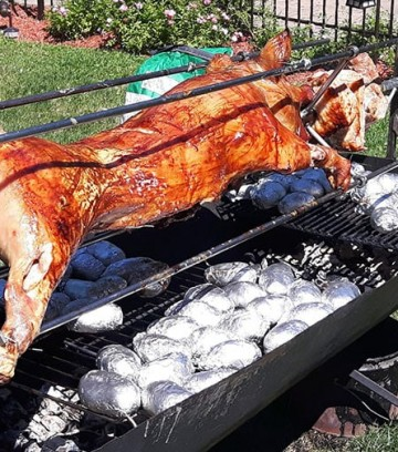 spit-roast